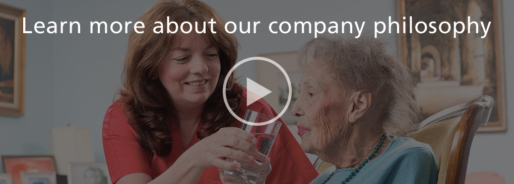 watch this video to learn more about our company philosophy