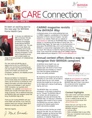 care connection winter 2013 english version