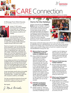 care connection winter 2014 english version