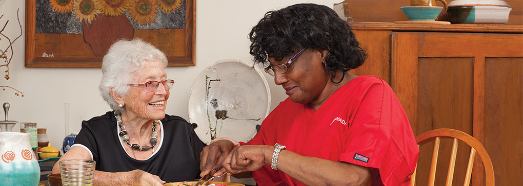 a safe and seamless transition to in-home care